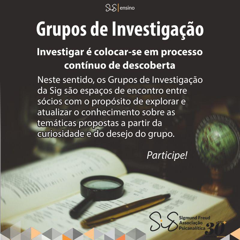 Grupos de Investigação